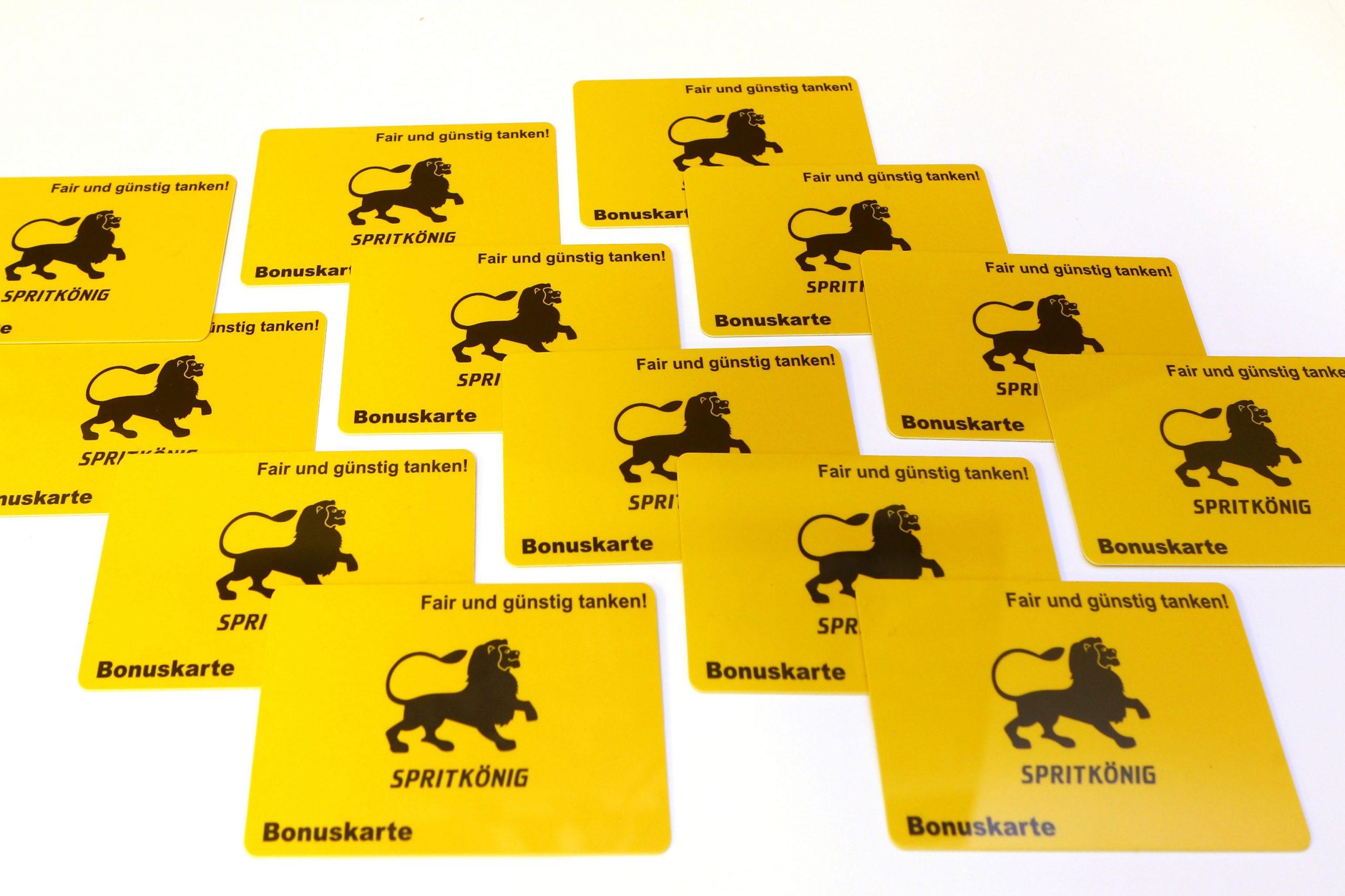 Spritkönig Bonuskarte
