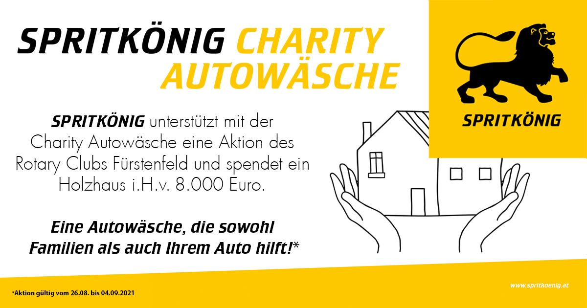 Spritkönig Autowaschaktion August 2021